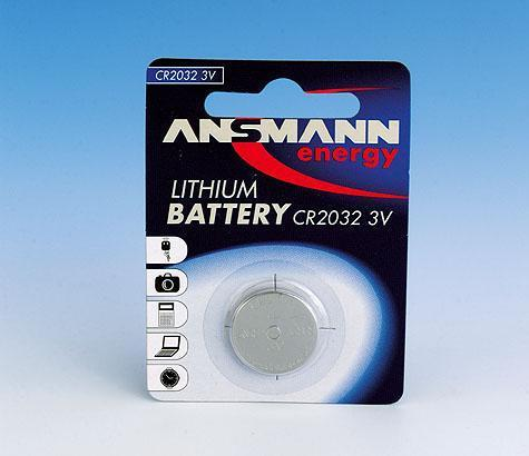 Ansmann CR2025 Button Battery