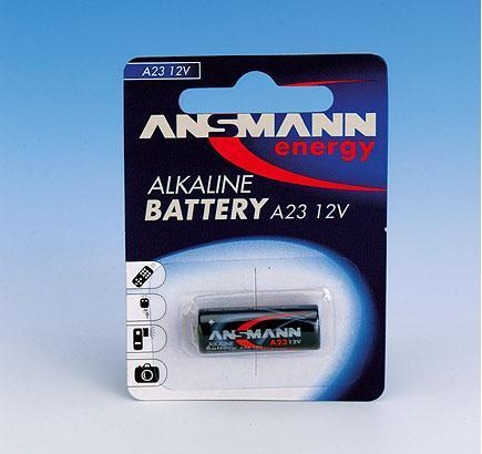Ansmann A23 Car alarm battery