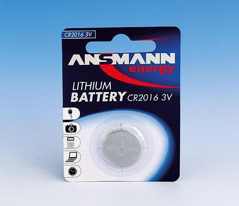 Ansmann CR2016 Button Battery
