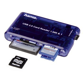 35 in 1 card reader